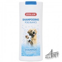 ZOLUX Shampoo White Hair 250ml -elderberry extract, limiting yellowing
