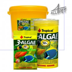 TROPICAL 3-Algae Fish Premium Food Flakes