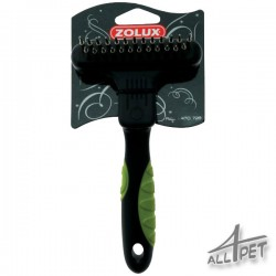 ZOLUX Undercoat Rake Double - teeth are telescopic (retractable) and rotation