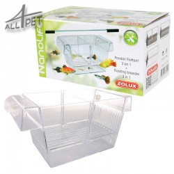 ZOLUX Aquarium Floating Fish Breeder Tank Fry Trap Hatchery 3in1