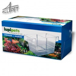 LUPIPETS 3in1 Aquarium Floating Fish Breeder Tank Fry Trap Hatchery