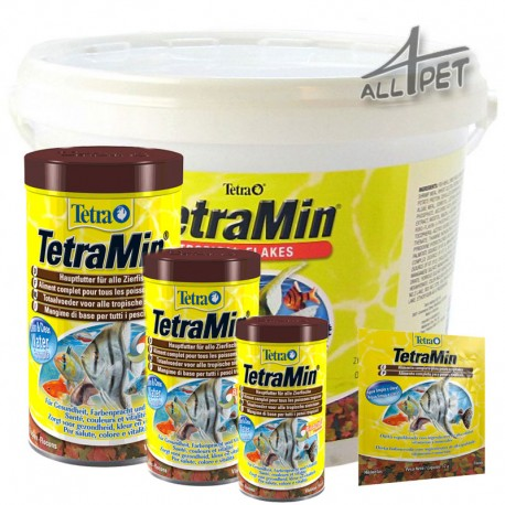 TETRA Min Fish Food Tropical Aquarium Universal Flakes TetraMin
