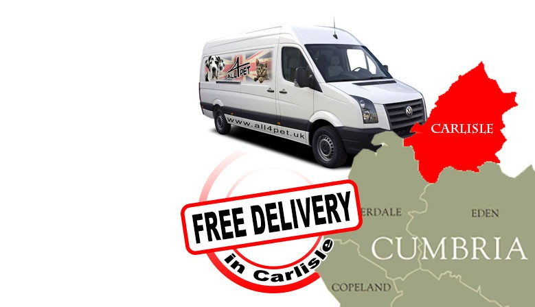 FREE delivery in Carlisle